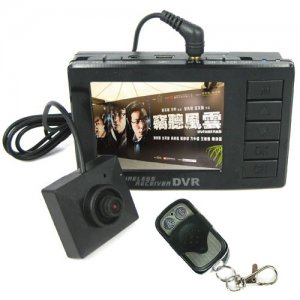 High-def DVR System with LCD Screen and Wireless Receiver